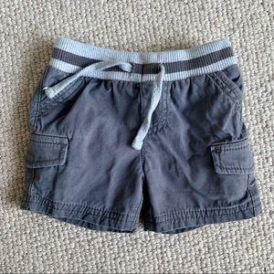 Tucker & Tate cargo shorts - size 6M